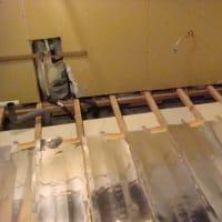 床暖房 リフォーム工事 床張替え