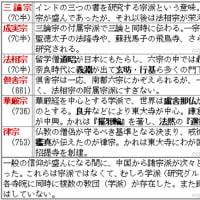 南都六宗の覚え方◇B古代115