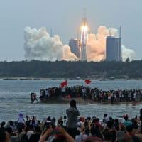 昼前にポルトガル沖で大気圏再突入か中国ロケット残骸落下予測