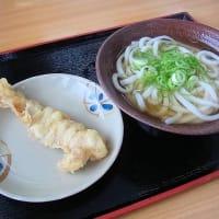 かけうどん小+ゲソの天ぷら 玉吉本店