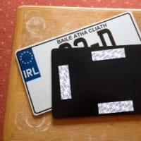 アイルランドのナンバープレート