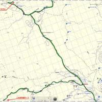 サイクリング:よってけさん→林道二の足線