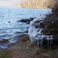 氷の造形美 Ice