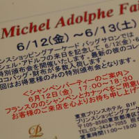 ミッシェル・アドルフの展示会(別の場所で)