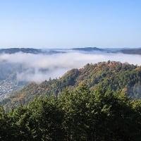 備中松山城 雲海。