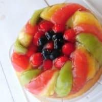 フルーツゼリーケーキ