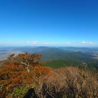 秋の筑波山