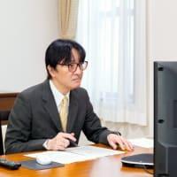 皇嗣殿下 済生会とオンライン交流