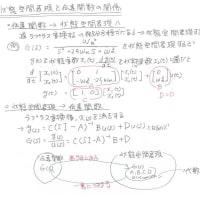 制御工学まとめー状態空間表現と伝達関数の関係