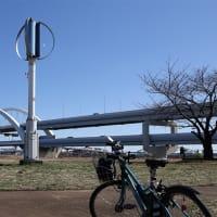 ゆうゆう公園の垂直軸風車