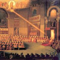 第二バチカン公会議の新しい教え、司牧的な新しい方針は、啓示された遺産の一部ではない。ラッツィンガー枢機卿もエキュメニズムは新約聖書にその根拠がないと認めている