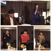 1月18日(日)の午後は、菅原悦子(vo)さんのライブでした!