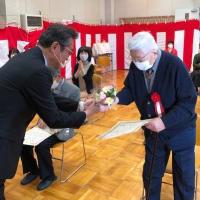 箕面市元気はつらつ頑張る高齢者表彰の表彰式が開かれました!