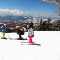 春スキー!満開!ぽかぽか陽気で気持いい風を感じて!