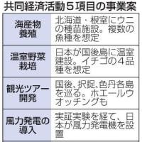 安倍晋三、対ロシア外交「何の成果もなし」 → 『カネ返せ外交』だ!