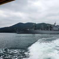 佐世保軍港クルーズ 海上自衛隊の艦艇