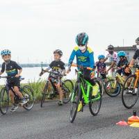 KINAN AACA 第8戦 キッズスクール&自転車のレース。