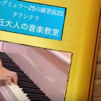 タランテラ ブルグミュラー25の練習曲 20  自由が丘大人の音楽教室 ピアノ演奏 伊藤紘人