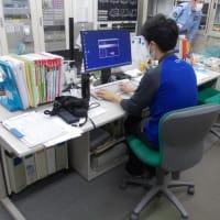 中央監視設備の定期点検を行いました。