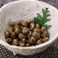 山薬一品料理 零余子(むかご)の塩茹で|箱根 自然薯の森 山薬