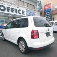 買取入庫情報/VW・トゥーラン(ABA-1TCAV)平成22年式