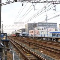 名鉄名古屋本線は「二ツ杁駅」を通過する特急列車 その2 (2019年10月)