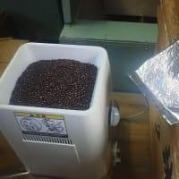 津幡町名産「おまん小豆茶」製造中・・・