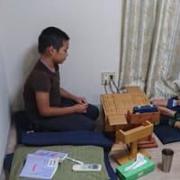 8月23日初心者子供教室の風景