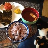 焼き海苔と黒千石大豆ご飯、今夜のラジオ