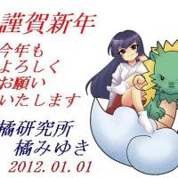 2012年新年のご挨拶(節目となる1年)