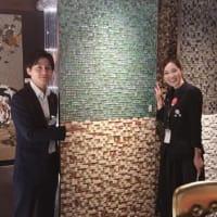 暮らしのスタイルに提案の幅と価値基準を色々と・・・・この日はトーヨーキッチンスタイル大阪SRでレセプションとインテリア要素としてモザイクタイルとティファニーブルーの提案要素を。