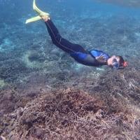海の日のレンボガン島