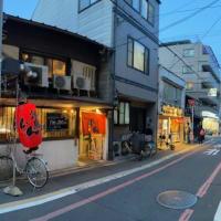 京都町中暮し ~ 六角通夕景