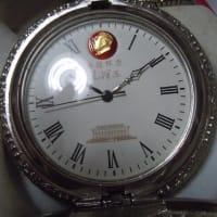 中国共産党 毛沢東主席誕生100周年記念軍用懐中時計