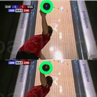 [bowling:611]Z打法式V字振り子投法