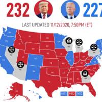 際立つ左派系メディアの迷走ぶり!・・・【大統領選継続中❗️】続ドミニオン疑惑!米24州で票改ざん?!内部告発者が証言‼️(敵の正体が徐々に明らかに…‼️)【及川幸久−BREAKING−】