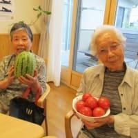 ☆スイカとトマト差し入れありがとうございます!☆