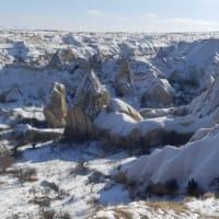 2021 カッパ雪景色