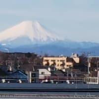 東京から見える富士山