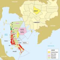 カンボジア 海上油田でタイとの交渉に前向き