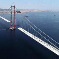 あと床板20枚で、チャナッカレ橋が完成する