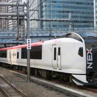 特急「成田エクスプレス34号」 大崎駅付近通過 (2019年6月 東京旅)
