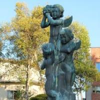 ぬさまい公園で(釧路の野外彫刻 47)。遠軽→北見→釧路。2021年10月9日は3カ所(7)