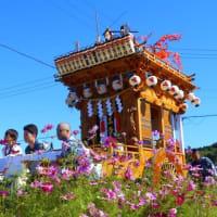 コスモス街道と秋の祭典