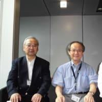 ◆2015年5月13日(水)、日本ロボット学会の会長、早稲田大学教授の高西淳夫先生にお会いしてきました!