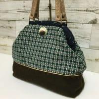 暖かいウールのバッグ
