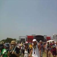 ROCK IN JAPAN FES初日。