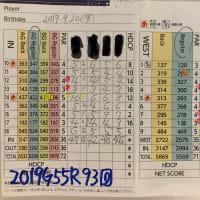 今日のゴルフ挑戦記(281)/東名厚木CC/イン(A)→ウエスト
