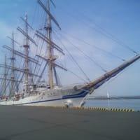 展望台と船