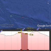 竹島近海のクローラー痕: 計測発展篇1 何だか分からないが、実在する